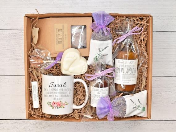 Surrogate Mother Gift Box, Surrogacy Gift Basket, IVF Care Package, Surrogate Care Care Box, Surrogate Gift Box, Organic Spa Gift Box
