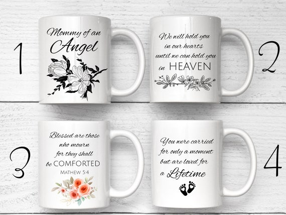 Mommy Of An Angel Mug, Angel Baby Mug, Miscarriage Gift, Baby Loss Gift, Loss Of Child Gift, Sorry For Your Loss, Infant Loss Gift