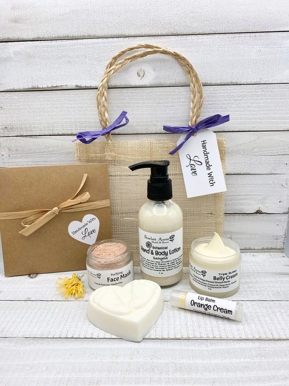 Expecting Mom Gift Set, New Mom Care Package, Pregnancy Gift Basket, Mom To Be Gift Box, Postpartum Care Package