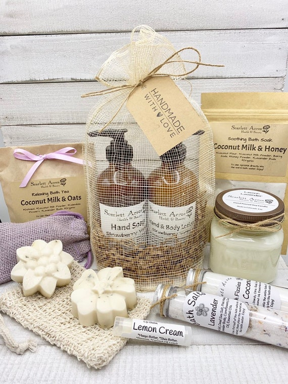 Mom Birthday Gift, Birthday Gifts For Her, Relaxation Gift Box, Stress Relief Gift Box, Gift Baskets For Women, Pamper Gift Box