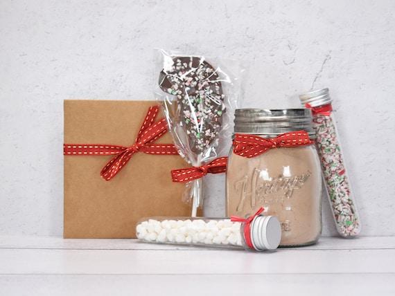 Peppermint Mocha Gift, Christmas Gift Basket, Hot Chocolate Gift Box, Christmas Gift Box, Chocolate Gift Box, Hot Cocoa Gift Set