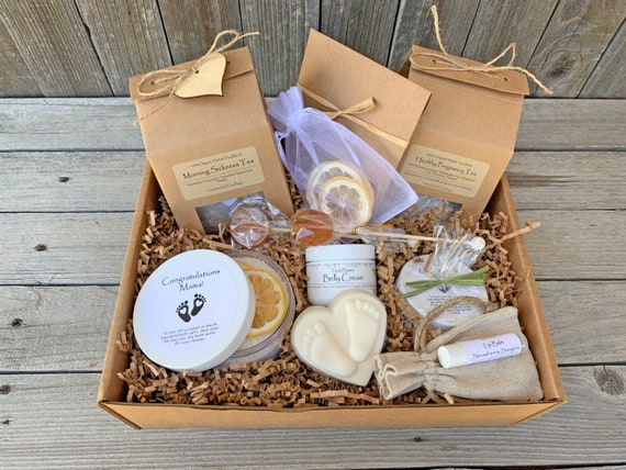 Morning Sickness Kit, Pregnancy Gift Basket, First Time Mom Gift Set, Expecting Mom Gift Box, Mom To Be Gift Box, Difficult Pregnancy Gift