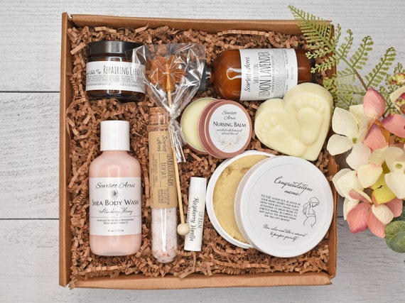 New Mom Care Package, Postpartum Care Kit, New Mom Gift Basket, First Time Mom Gift, New Mom Gift Box, Pregnancy Gift Box