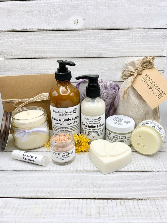 Mom And Baby Gift Set, New Mom Care Package, Pregnancy Gift Basket, Expecting Mom Gift Box, Pamper Gift Set, Postpartum Care Package