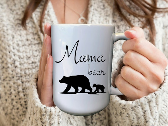 Mama Bear Mug, First Time Mommy Mug, Mom To Be Mug, Custom Pregnancy Mug, First Time Mom Gift, Mommy To Be Mug, Expecting Mom Gift