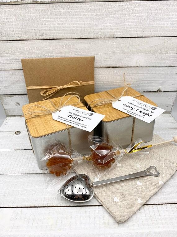 Tea & Mug Gift Set, Gift Box For Women, Tea Gift Set, Birthday Gifts For Her, Tea Lover Gift, Birthday Gift Basket, Tea Gift Box