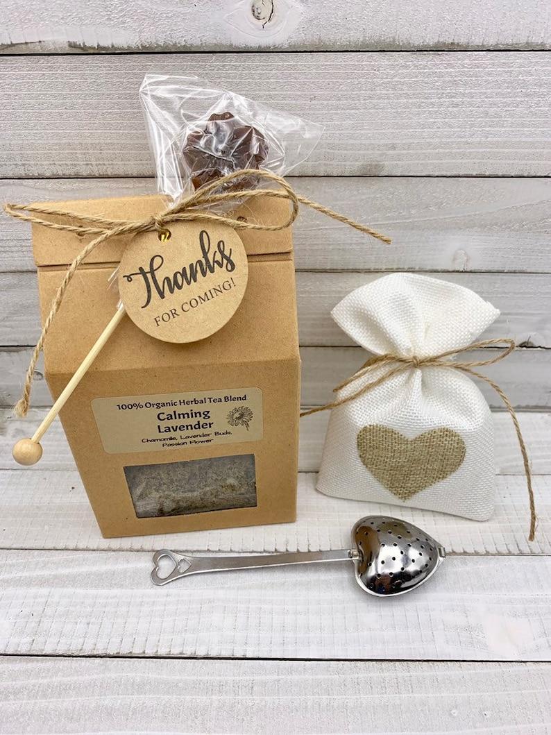 Winter wedding favors. Rustic tea wedding favors  customized  organic  unique ...set of 50