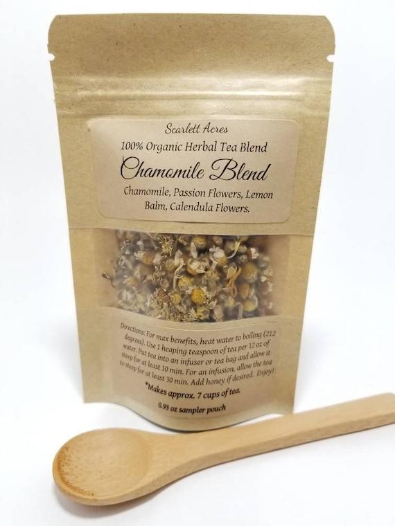 Calming Tea / Chamomile Tea / Organic Tea / Herbal Tea / Stress Relief / Anxiety Relief / Herbal Sleep Tea / Sleep Aid / Stress Tea