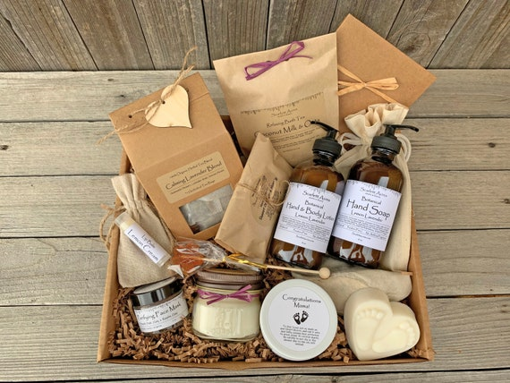 Postpartum Care Package, Postpartum Gift Box, New Mom Gift Basket, Mom To Be Gift Box, Expecting Mom Gift Basket, Pregnancy Gift Box