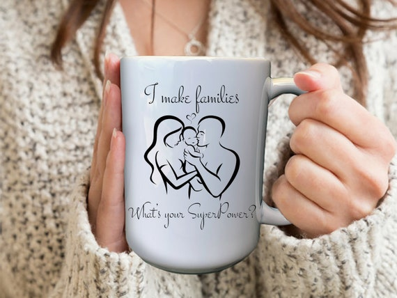Surrogacy Mug, Surrogacy Gifts, Custom Pregnancy Mug, Surrogate Mug, Custom Surrogate Gift, Personalized Surrogacy Mugs, Pregnancy Mug Gift
