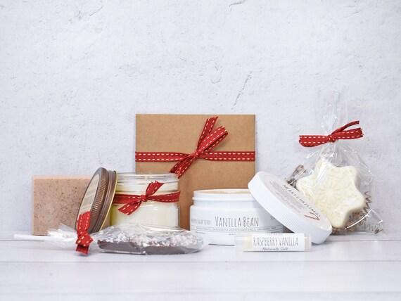 Christmas Gift Set, Christmas Gift Basket, Gift Baskets For Women, Christmas Gift Box, Candle Gift Set, Holiday Gift Basket