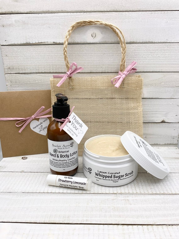 Nurse Care Package, Thank You Gifts, Bridal Shower Prizes, Bridesmaid Spa Gifts, Bridesmaid Proposal Gifts, Lotion Gift Set