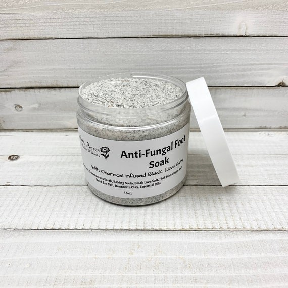 Anti-Fungal Foot Soak, Charcoal Foot Bath, Detox Foot Soak, Charcoal Bath Salts, Athletes Feet Soak, Anti-bacterial Bath, Detox Bath Soak