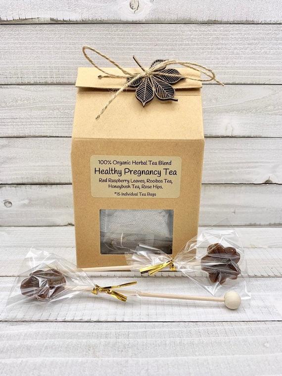 Organic Fertility Tea / Infertility Tea / Red Raspberry Leaf Tea / Pregnancy Tea / Tea for Women / Pregnancy Gift / Breastfeeding Tea / Tea