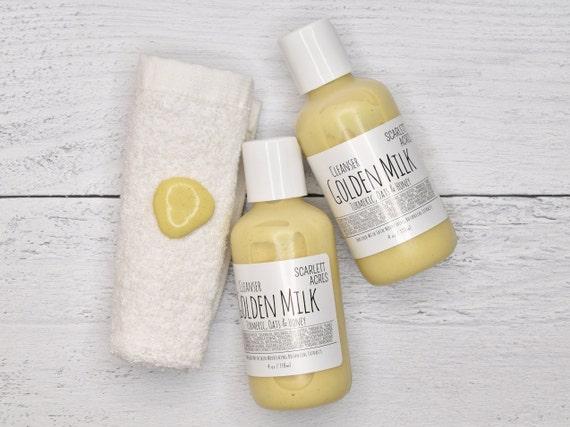 Turmeric Cleanser, Eczema Face Wash, Coconut Milk Cleanser, Magnesium Cleanser, Sensitive Skin Cleanser, Honey Cleanser, Colloidal Oatmeal
