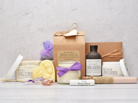 Morning Sickness Gift Box, First Trimester Gift Set, Expecting Mom Gift Box, Mom To Be Gift Box, Pregnancy Care Package, 1st Trimester Gifts