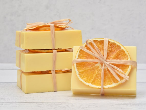 4 Soap Favors, Lemon Soap Favors, Lavender Soap Favors, Baby Shower Favors, Rustic Wedding Favors, Baby Shower Prizes, Baby Shower Raffle