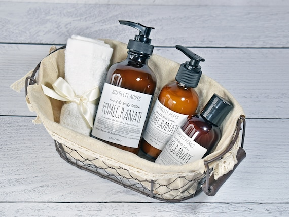 Pomegranate Lotion, Shea Butter Lotion, Organic Lotion, Cruelty Free Lotion, Natural Body Lotion, Hand and Body Lotion, Dry Skin Lotion
