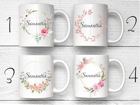 Vintage Bridesmaid Mug, Custom Name Mug, Maid Of Honor Mug, Personalized Mug, Custom Bridesmaid Mug, Maid Of Honor Gift