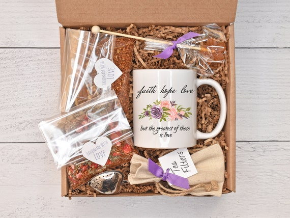 Chemo Care Package, Cancer Care Package, Tea Gift Basket, Healing Gift Box, Recovery Care Package, Gift Baskets For Women, Wellness Gift Box