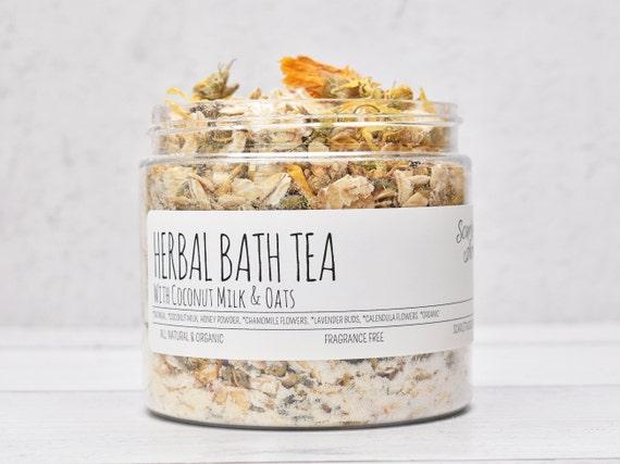 Herbal Baby Bath, Coconut Milk Bath Soak, Oatmeal Baby Bath, Calming Baby Bath, Lavender Baby Bath, Herbal Bath Tea, Chamomile Baby Bath