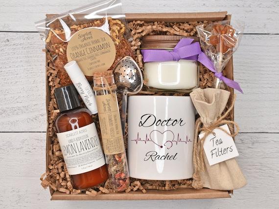 Doctor Gift Box, Doctor Appreciation Gift, Doctor Gift Basket, Thank You Doctor, New Doctor Gift Box, Tea & Mug Gift Set