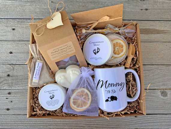 Pregnancy Gift Basket, New Mom Care Package, Expecting Mom Gift, Mom To Be Gift Box, Congratulations Gift, First Time Mom Gift