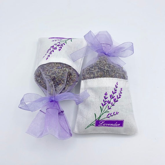 Lavender Sachets, Lavender Favors, Bridal Party Gifts, Lavender Bridal Shower Favors, Lavender Tea Party Favors