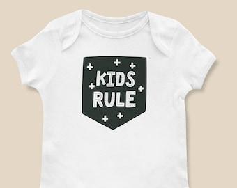 Kids Rule Onesie