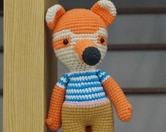 Crochet fox/ Fox Toy/ Fox/Picapau/Crochet