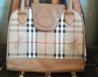 2d056b3ee8c6 Vintage Burberry Purse Bag