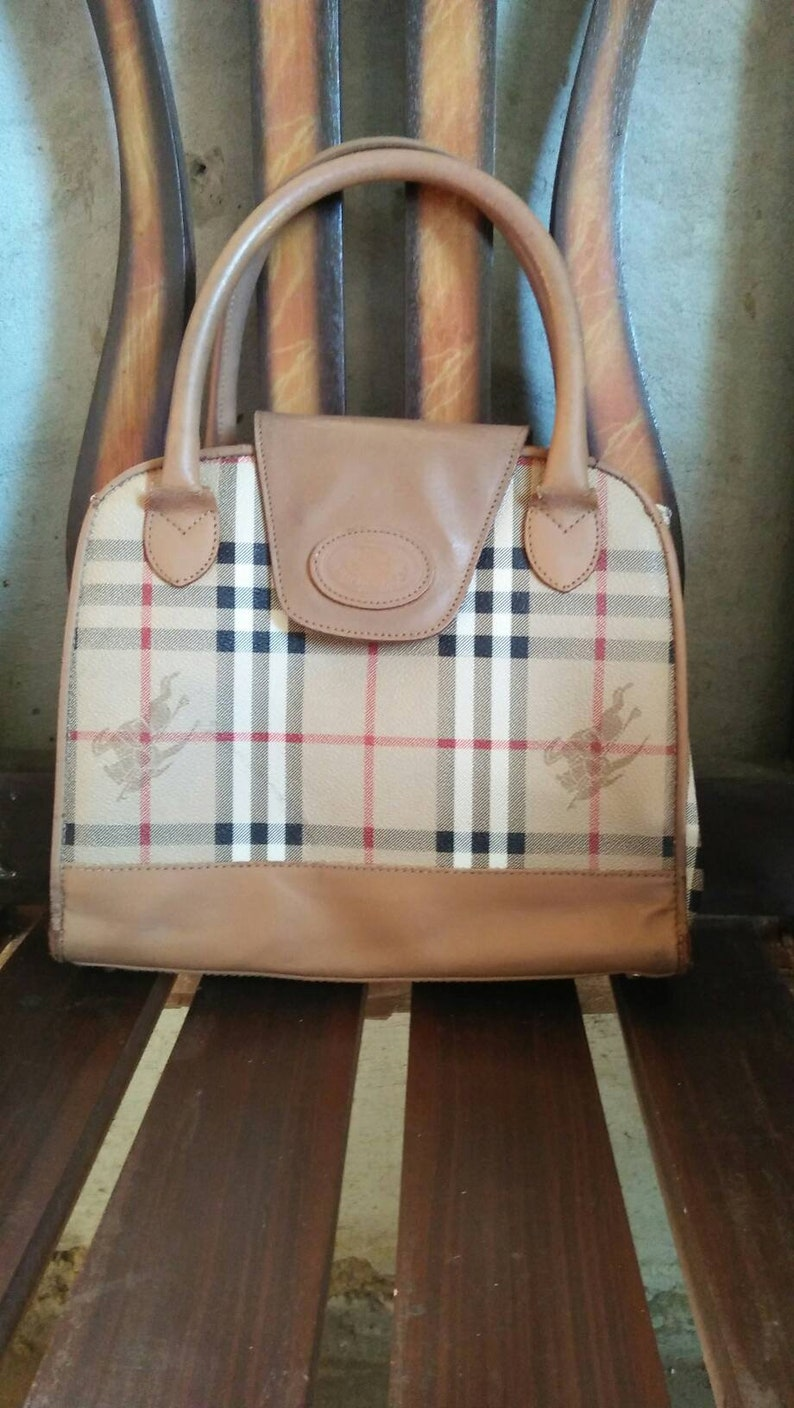 6c769f614c1b Vintage Burberry Purse Bag