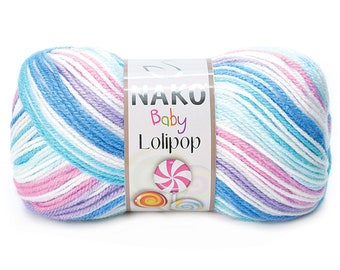 NAKO Lolipop 230M 15 Colors