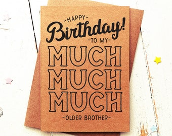Bro Birthday Card