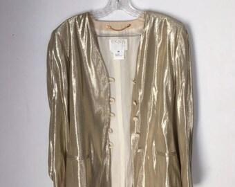 Escada Couture Gold Vintage Jacket