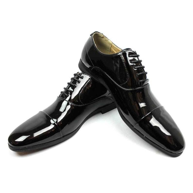 Leather boots unisex sex pistols