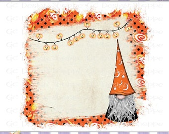 Diy gnome card | Etsy