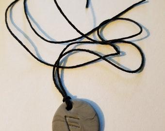 Viking Rune Ansuz Necklace