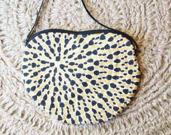Mini black COCCOLOBA bag