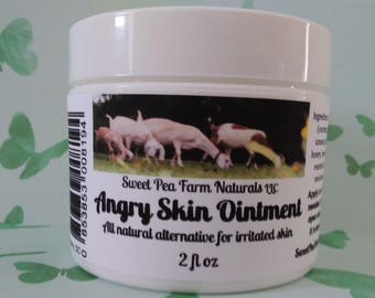 Angry Skin Ointment-all natural remedy for irritated skin conditions