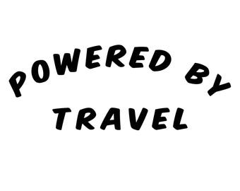 Crop-top - Powered by Travel - Travelquote