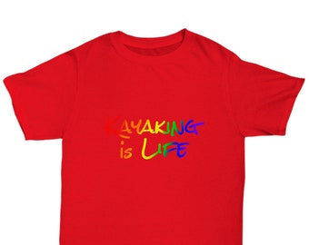 Kayaking is life - awesome t-shirt - gift