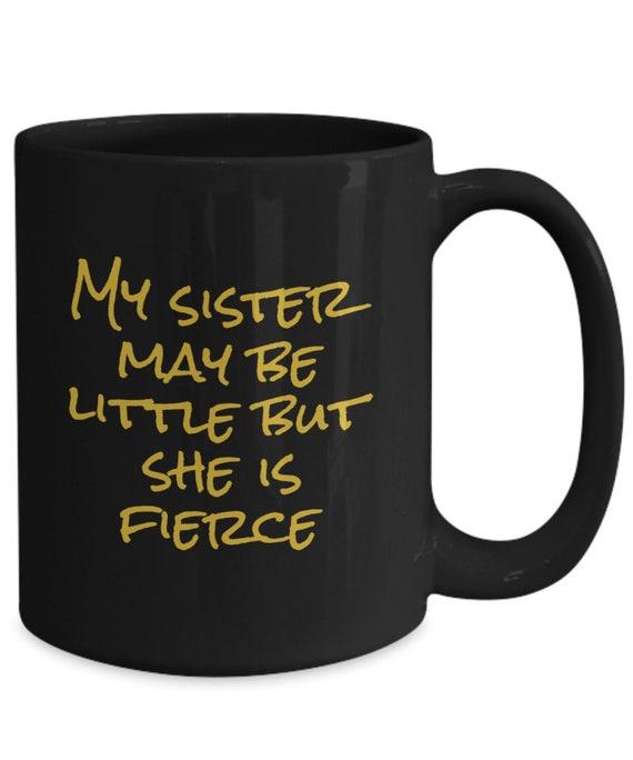 She May Be Little But She Is Fierce Printed Mug