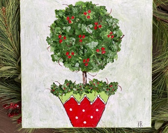 Holiday topiary