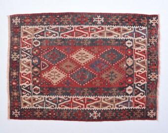 handmade kilim 33x46ft 101x141cm tapis kilim kilim tapis persan tapis kilim 3x5 petit tapis turc tapis kilim tapis persan tapis marocain - Tapis Kilim