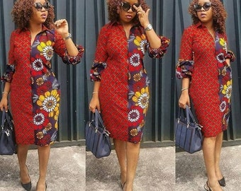 7037e2f8a68c6 African print off the shoulder midi dress -Ankara Midi dress- dress-Ankara  dress -African clothing -women clothing-Clothing