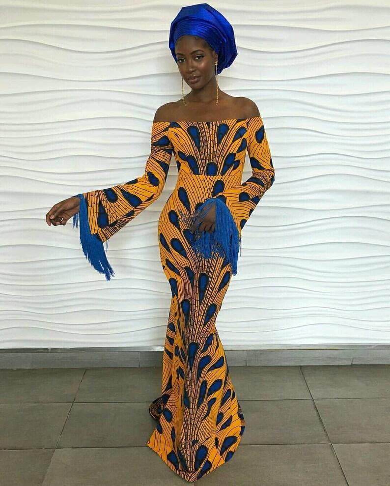 2b9c23153f19 African print maxi dress Ankara maxi dress-dress-maxi