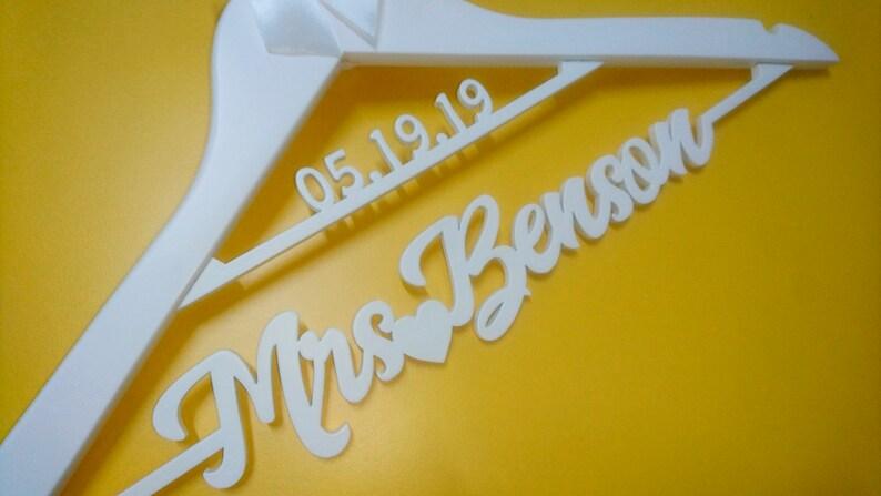 rose gold bride hanger rose gold mrs hanger rose gold wedding dress hanger wedding hanger personalized rose gold wedding hanger