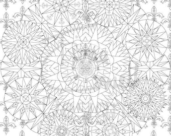 5 A4 pages Sea Life Colouring Book 5