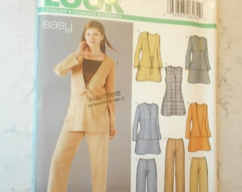 McCall/'s M6210 Sewing pattern for women crafting paper mod podge unlined coats